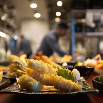 Kumo tasty Vegetable Tempura