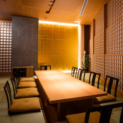 Private dining in the Kumo Restaurant Tatami Room