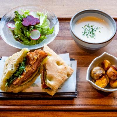Rusutsu Pork Katsu Sandwich