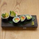 Avacado Cucumber Roll Square Lr 0559