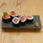 Salmon Roll Square Lr 0561