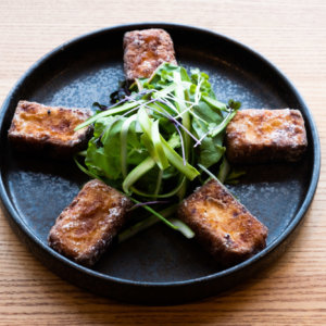 Fried Tofu With Yuzu Dressing