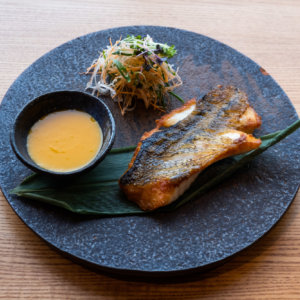Snapper Of The North Grilled Soy With Aji Amarillo Sauce
