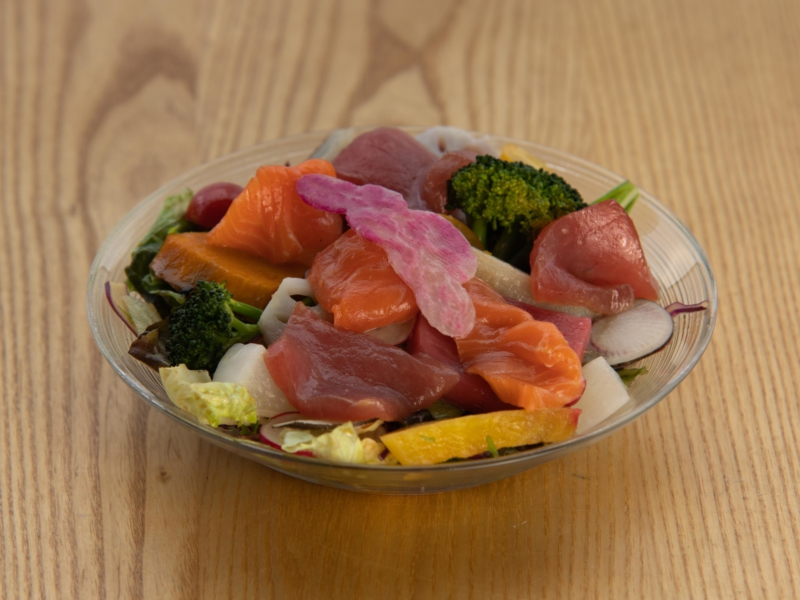 Sashimi Salad Square Lr 0582