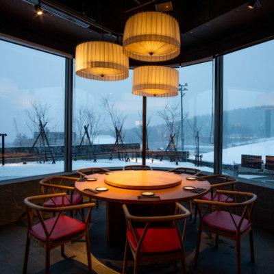 Ambience and premium style - Kumo Restaurant.